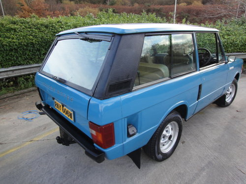1980 RANGE ROVER 2 DOOR VERY SMART NEW GEARBOX 62,000 MILES For Sale (picture 2 of 6)