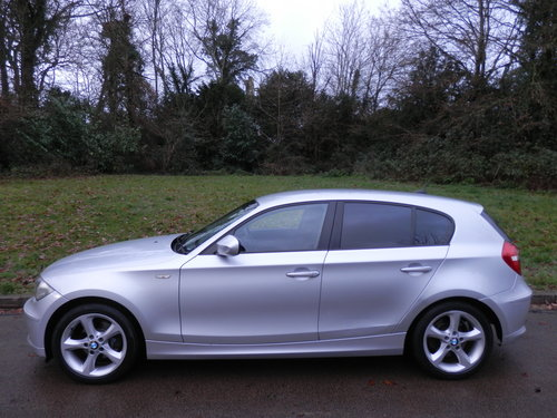 2010 BMW 118d Sport.. Automatic.. Sports Seats.. FSH SOLD (picture 1 of 6)