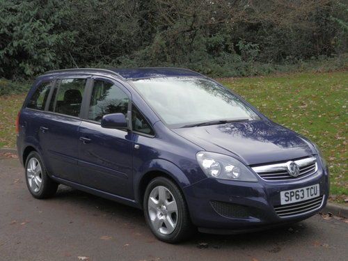 2013 Vauxhall Zafira 1.7 CDTi Exclusiv.. Only 12,500 Miles! FSH SOLD (picture 2 of 6)