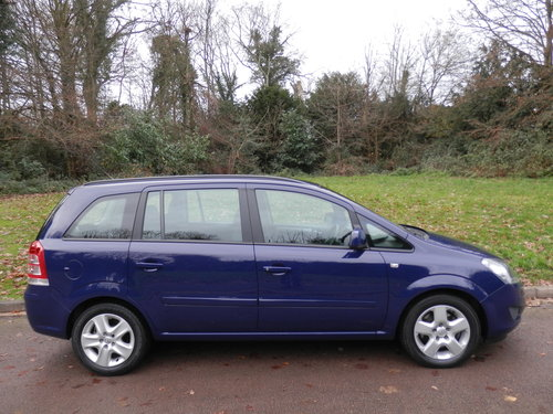 2013 Vauxhall Zafira 1.7 CDTi Exclusiv.. Only 12,500 Miles! FSH SOLD (picture 6 of 6)
