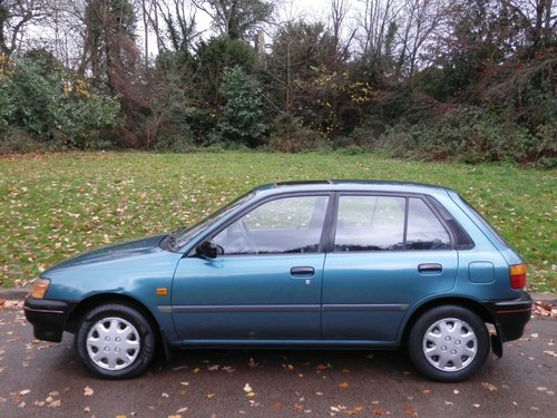 1994 Toyota Starlet 1.3 GLi.. Only 41,000 Miles.. 5 Dr Hatchback SOLD (picture 1 of 6)