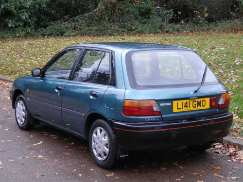 1994 Toyota Starlet 1.3 GLi.. Only 41,000 Miles.. 5 Dr Hatchback SOLD (picture 5 of 6)