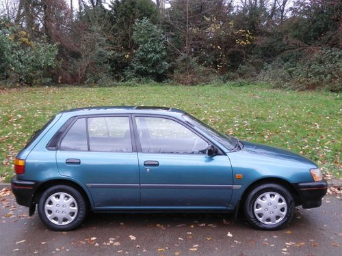1994 Toyota Starlet 1.3 GLi.. Only 41,000 Miles.. 5 Dr Hatchback SOLD (picture 6 of 6)