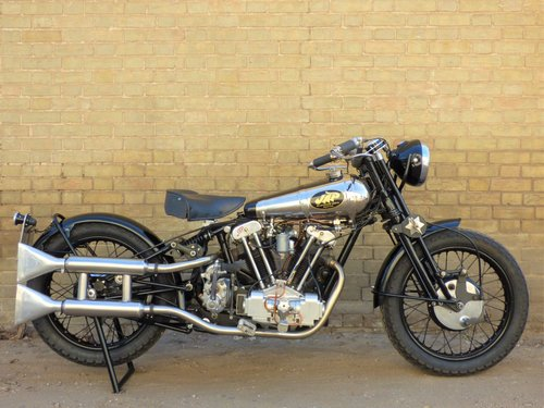 1930 Brough Superior Replica Special OHV V Twin 500cc For Sale (picture 1 of 6)