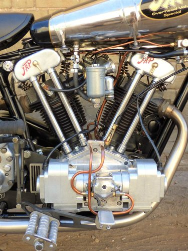 1930 Brough Superior Replica Special OHV V Twin 500cc For Sale (picture 3 of 6)