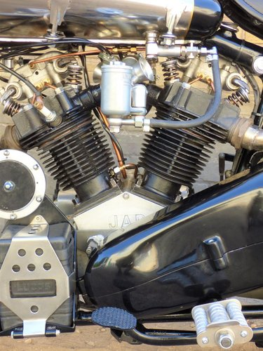 1930 Brough Superior Replica Special OHV V Twin 500cc For Sale (picture 4 of 6)