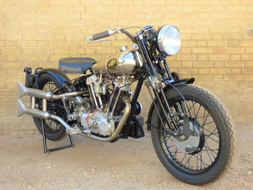 1930 Brough Superior Replica Special OHV V Twin 500cc For Sale (picture 6 of 6)