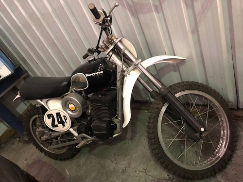 1970 Husqvarna 450 motocross   SOLD (picture 1 of 6)