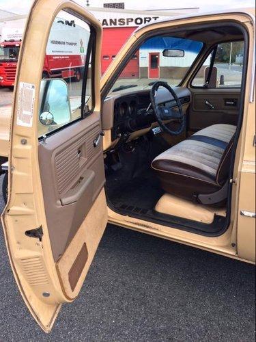 1978 GMC Sierra C15 (Chevrolet C10) pickup 5.7L V8 SOLD (picture 4 of 6)