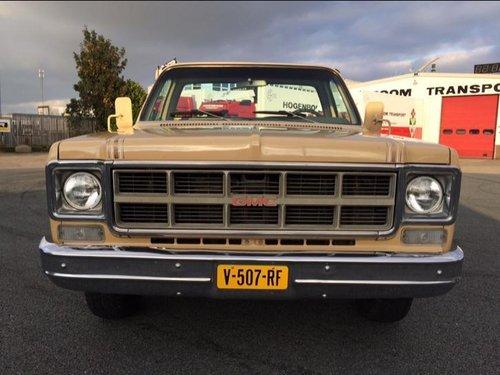 1978 GMC Sierra C15 (Chevrolet C10) pickup 5.7L V8 SOLD (picture 6 of 6)