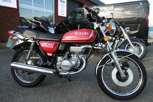1976 SUZUKI GT185 STUNNING ORIGINAL CONDITION  SOLD (picture 1 of 6)