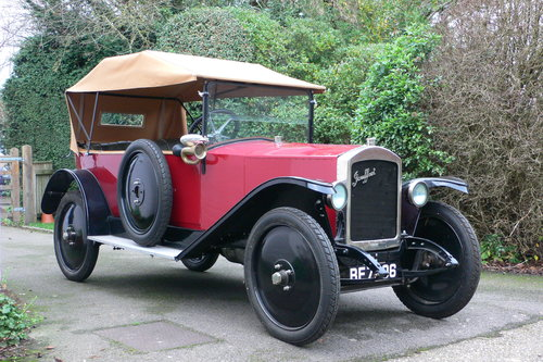 1921 Jouffret Four Seater Tourer For Sale (picture 1 of 6)