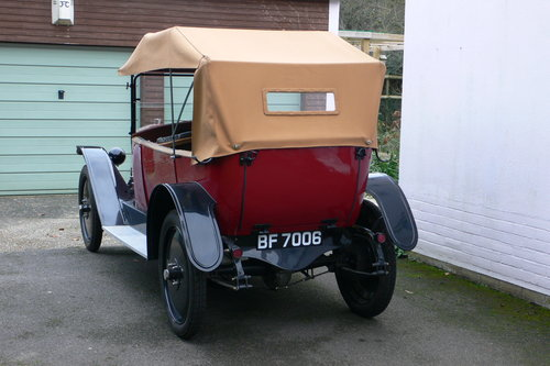 1921 Jouffret Four Seater Tourer For Sale (picture 3 of 6)