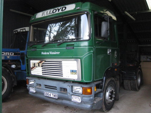 1990 ERF E10 290 Tractor Unit SOLD (picture 1 of 5)