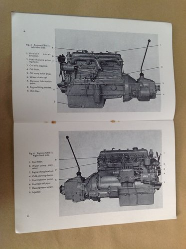 BMC 5.1 Litre OEB Diesel Engine Handbook For Sale (picture 2 of 2)