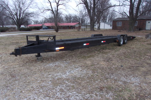 2008 2 Car Open Trailer For Sale (picture 1 of 6)