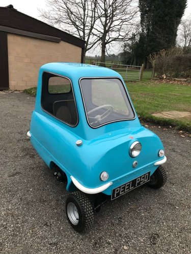 PEEL P50 MICROCAR IN BLUE ** NEW BUILD SIMPLY STUNNING! ** SOLD (picture 2 of 6)