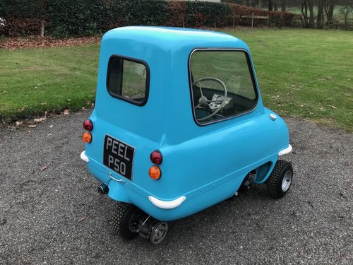 PEEL P50 MICROCAR IN BLUE ** NEW BUILD SIMPLY STUNNING! ** SOLD (picture 4 of 6)