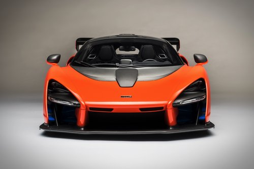 2018 SCALE MODEL 1:8 - MCLAREN SENNA For Sale (picture 2 of 6)