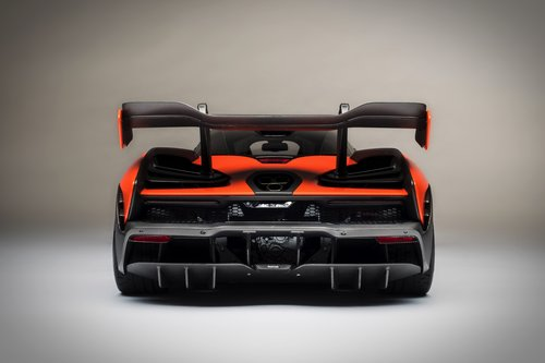 2018 SCALE MODEL 1:8 - MCLAREN SENNA For Sale (picture 3 of 6)