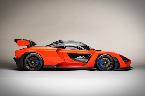 2018 SCALE MODEL 1:8 - MCLAREN SENNA For Sale (picture 4 of 6)
