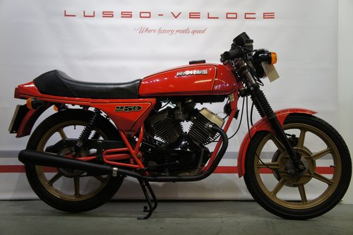 1981 Moto Morini 250 2C low miles, lightweight  For Sale (picture 1 of 6)