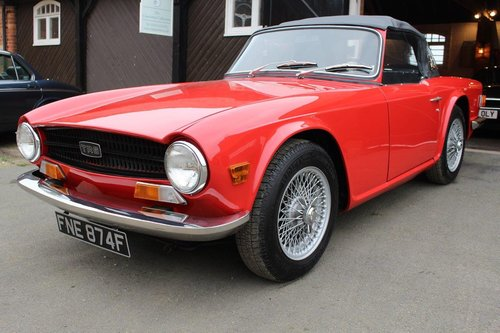 LHD 1969 MODEL YEAR TRIUMPH TR6 SOLD   Car And Classic