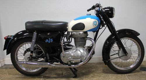 1961 AJS Model 14 250 cc with 62 CSR motor fitted  Beautiful SOLD (picture 1 of 6)