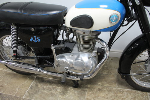 1961 AJS Model 14 250 cc with 62 CSR motor fitted  Beautiful SOLD (picture 2 of 6)