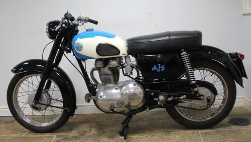1961 AJS Model 14 250 cc with 62 CSR motor fitted  Beautiful SOLD (picture 4 of 6)