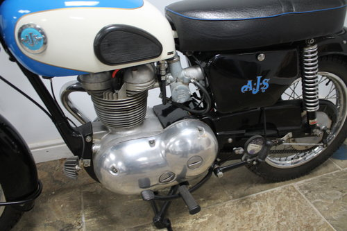 1961 AJS Model 14 250 cc with 62 CSR motor fitted  Beautiful SOLD (picture 5 of 6)