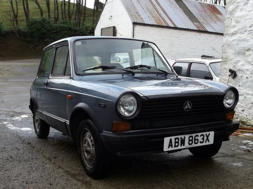 Autobianchi A112 Elite, 1982, LHD, 33,000m, MOT  For Sale (picture 1 of 6)