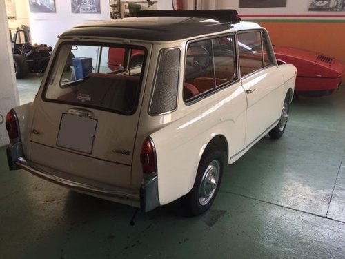 AUTO BIANCHI BIANCHINA PANORAMICA SUNROOF - 1963 For Sale (picture 3 of 6)