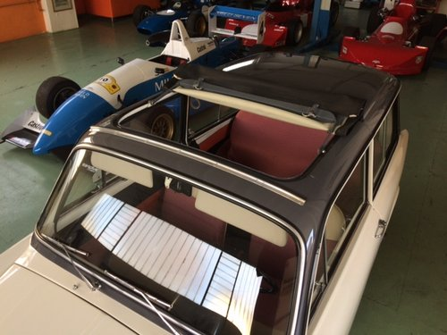 AUTO BIANCHI BIANCHINA PANORAMICA SUNROOF - 1963 For Sale (picture 5 of 6)