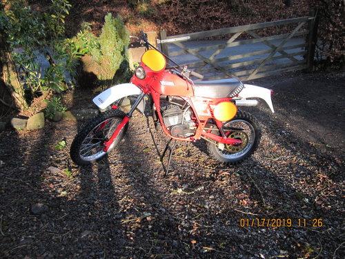 1981 fantic brissoni rc 125 enduro SOLD (picture 1 of 5)