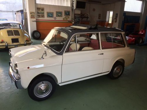 AUTO BIANCHI BIANCHINA PANORAMICA SUNROOF - 1963 For Sale (picture 1 of 6)