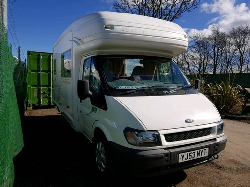 2003 Auto-Sleeper Pollensa 90 T350 - 4 Berth - REDUCED PRICE SOLD (picture 1 of 6)