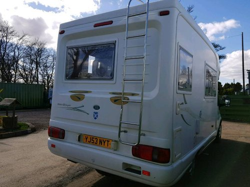 2003 Auto-Sleeper Pollensa 90 T350 - 4 Berth - REDUCED PRICE SOLD (picture 2 of 6)