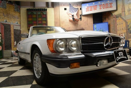1988 Mercedes-Benz 560 SL Cabrio For Sale (picture 3 of 6)