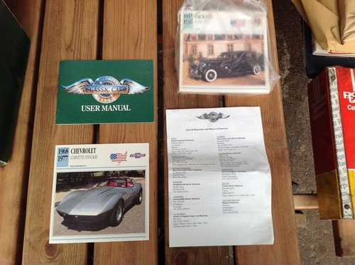 Classic Cars Club Flip Card Box Set + Doubles  For Sale (picture 1 of 3)
