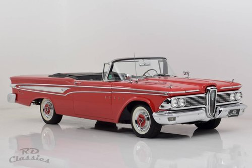 1959 Edsel Corsair Convertible / Frame-Off restauration For Sale (picture 1 of 6)