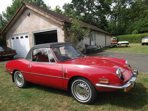 1970  Fiat 850 Spider Sport Convertible, Soft and Hard Top, LHD  SOLD (picture 1 of 6)