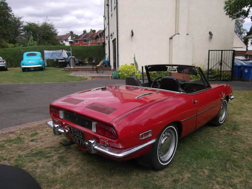 1970  Fiat 850 Spider Sport Convertible, Soft and Hard Top, LHD  SOLD (picture 4 of 6)