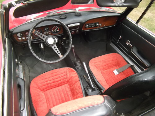 1970  Fiat 850 Spider Sport Convertible, Soft and Hard Top, LHD  SOLD (picture 5 of 6)