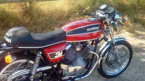 Moto Morini 3 1/2 Sport MK 1 1975 For Sale (picture 2 of 6)