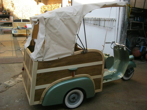Piaggio APE Calessino year 1954 For Sale (picture 3 of 6)
