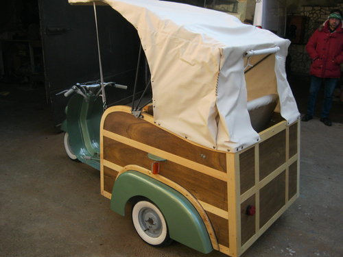 Piaggio APE Calessino year 1954 For Sale (picture 4 of 6)