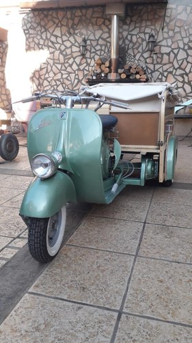 Piaggio APE Calessino year 1954 For Sale (picture 5 of 6)