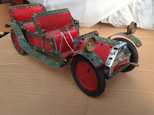 Meccano 'Rolls Royce'  Model Car. For Sale (picture 1 of 1)