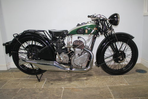 1936 BSA 500 cc S/V W6 Only produced for one year  SOLD (picture 1 of 6)